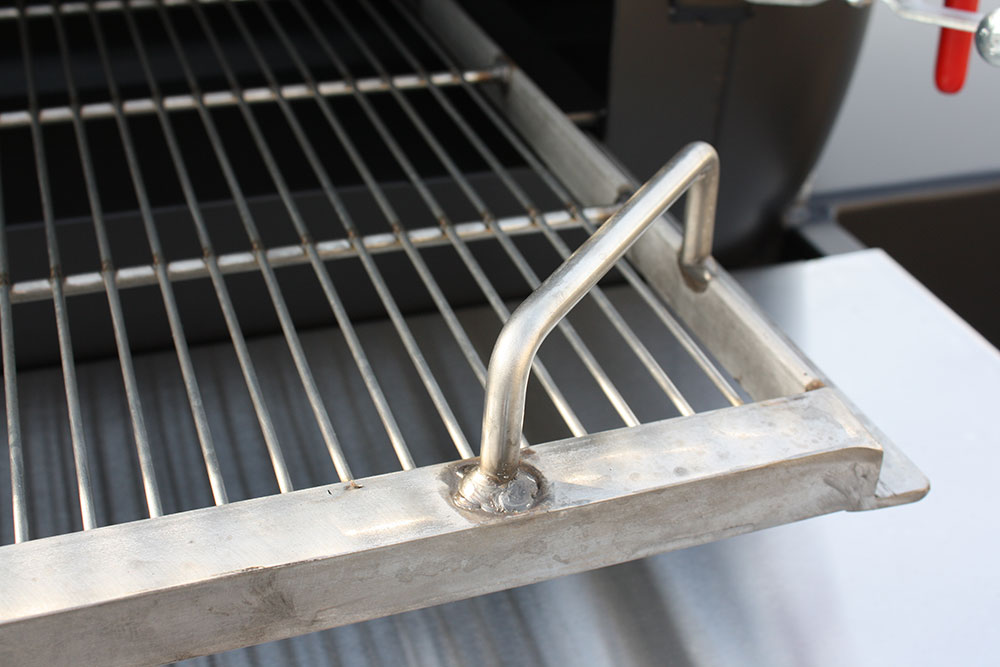 right handle on stainless steel cooking grate - Stainless Steel Grill Grates