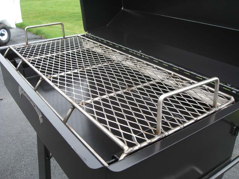Pr backyard bbq smoker meadow creek barbeques