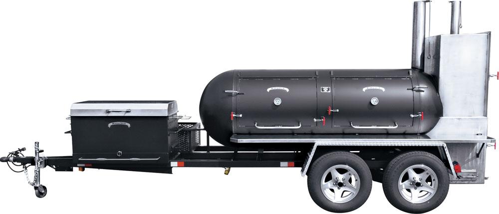 ts500 bbq smoker trailer