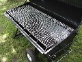 Non-Rusting Stainless Steel Grate on PR60 Pig Roaster (Charcoal)