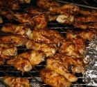 Chicken Wings on BBQ26S Chicken Cooker