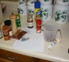 Making Homemade Rub