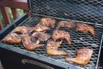 Grilled Chicken on BBQ26S Chicken Cooker