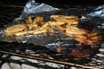 Grilling French Fries on the SQ36 Smoker With Grill Pan