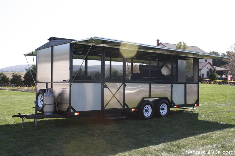 Ultimate Caterer Barbecue Trailer 5