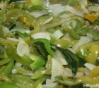 Peppers and Onions Topping