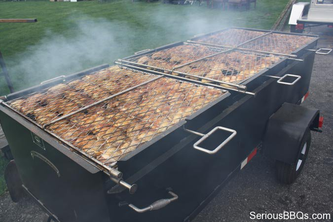Meadow Creek BBQ96 Chicken Cooker