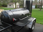 TS120 BBQ Smoker With Trim Package