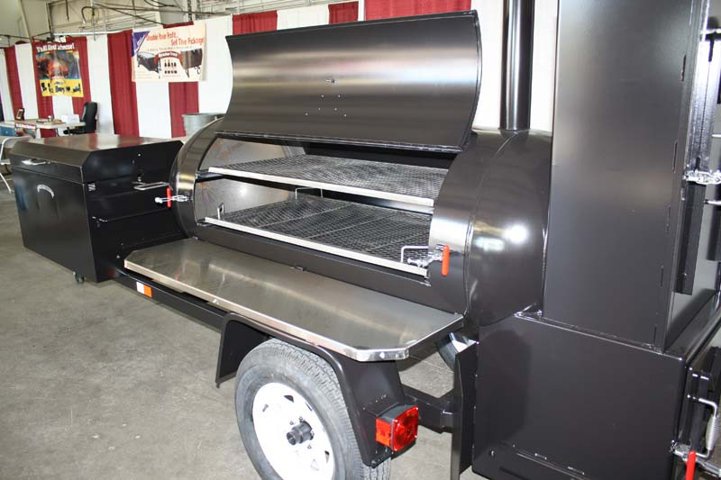 Ts250 With Insulated Firebox And Insulated Bbq42 Chicken