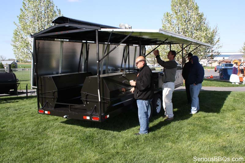 Meadow Creek's Custom Pit Trailers | SeriousBBQs com