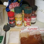 Homemade Brisket Rub Ingredients