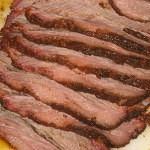 Sliced Smoked Brisket