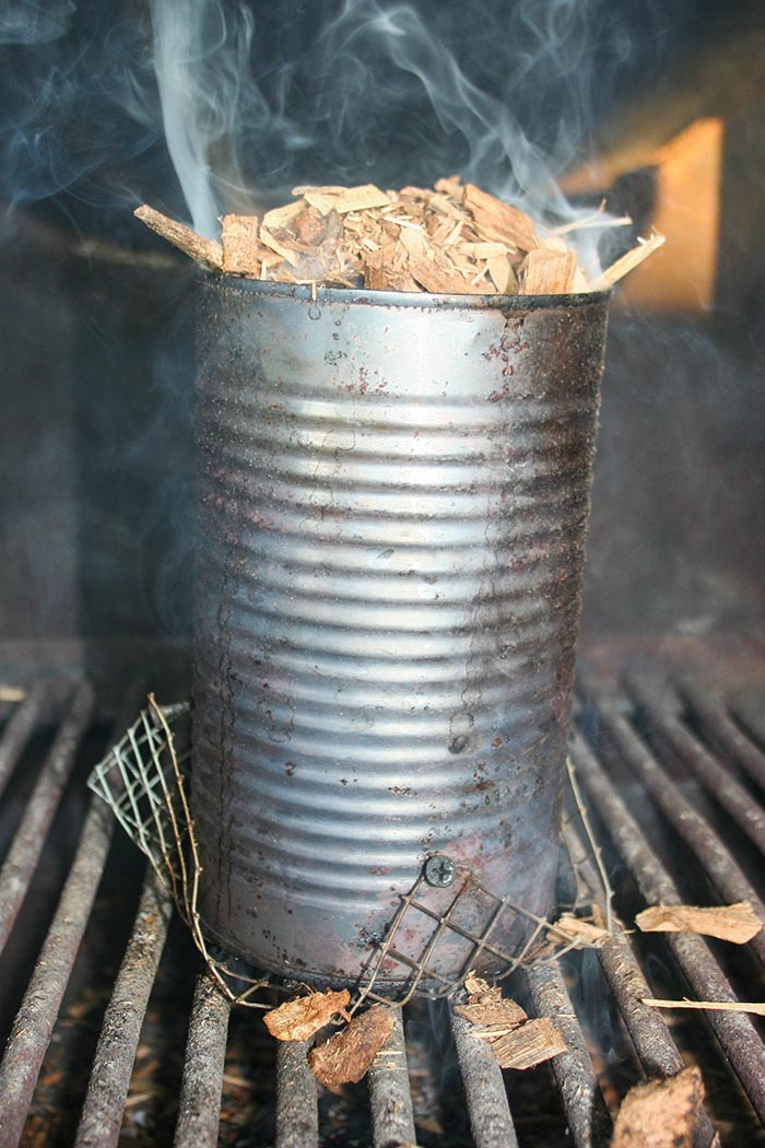 Best Wood Chips Smoking Brisket : Wood chips on top of the fire at beginning soak some