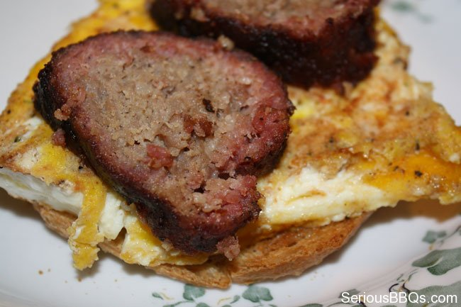 Smoked Sausage and Egg. Ohhh, are you serious?