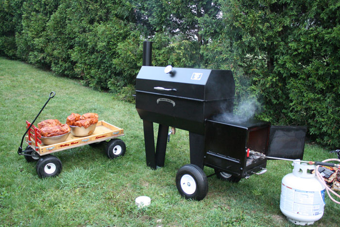 Meadow Creek SQ36 Offset Smoker