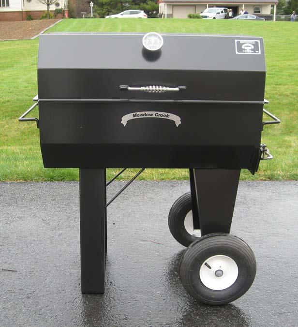 PR36 Backyard BBQ Smoker Photos